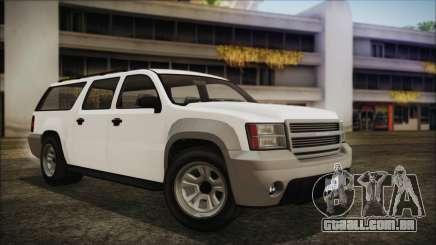 GTA 5 Declasse Granger Civilian IVF para GTA San Andreas