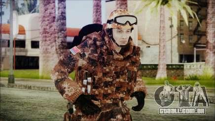 Chinese Army Desert Camo 3 para GTA San Andreas