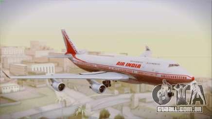 Boeing 747-437 Air India Tanjore New Skin para GTA San Andreas