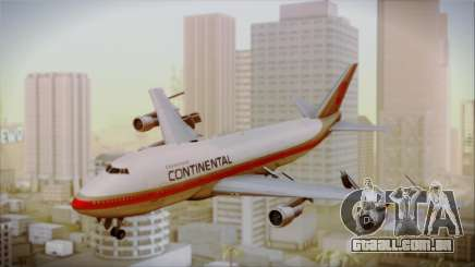 Boeing 747-200 Continental Airlines Red Meatball para GTA San Andreas