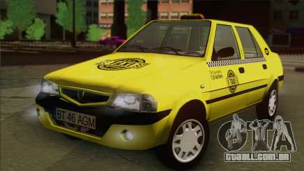 Dacia Solenza Taxi para GTA San Andreas