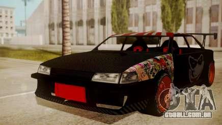 Sultan Full of Stickers para GTA San Andreas