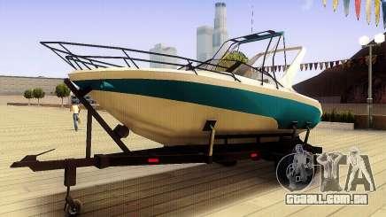 GTA V Boat Trailer para GTA San Andreas