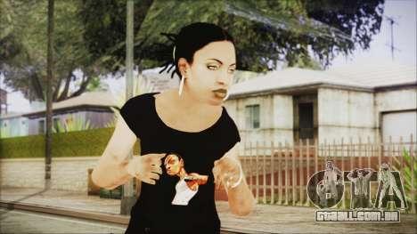 Left 4 Dead Rochelle para GTA San Andreas