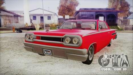 GTA 5 Declasse Clean Voodoo Bobble Version para GTA San Andreas
