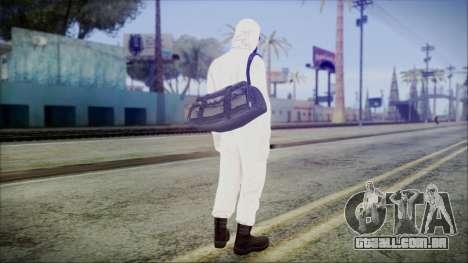 GTA 5 Online The Heist Gasmask Yellow para GTA San Andreas terceira tela