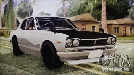Nissan Skyline GT-R Hakosuka para GTA San Andreas