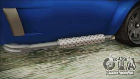 GTA 5 Declasse Mamba para GTA San Andreas vista direita
