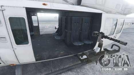 GTA 5 Bell UH-1Y Venom v1.1 sexta imagem de tela