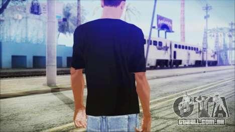 Santa T-Shirt para GTA San Andreas terceira tela