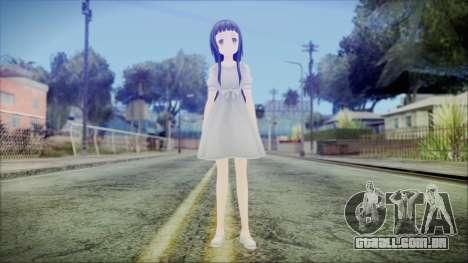 Yui Sword Art Online para GTA San Andreas segunda tela