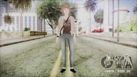 Life is Strange Episode 4 Max para GTA San Andreas segunda tela