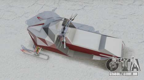 GTA 5 Snowmobile voltar vista