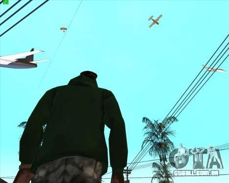 Insanidade, no estado de San Andreas v1.0 para GTA San Andreas terceira tela