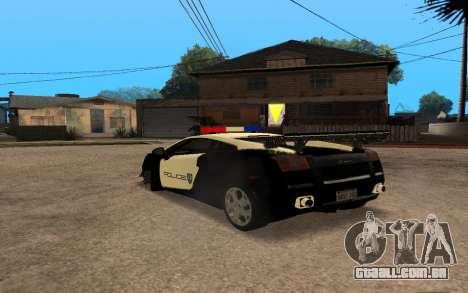 Lamborghini Gallardo Tunable v2 para GTA San Andreas vista direita