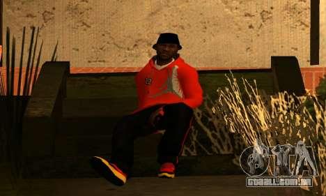 Mens Mega Pack para GTA San Andreas quinto tela