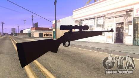 Remington 700 HD para GTA San Andreas terceira tela