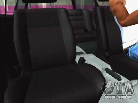Volkswagen Passat B3 Variant para GTA San Andreas vista interior
