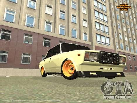 VAZ 2107 Carro para GTA San Andreas