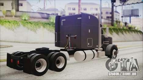 Peterbilt 378 2004 Ducky para GTA San Andreas esquerda vista