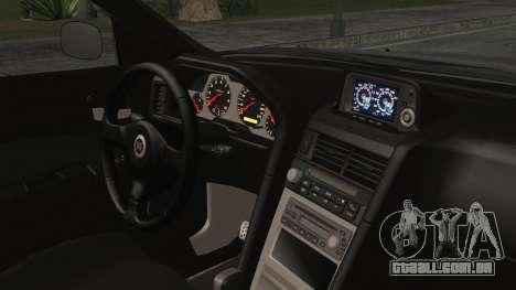 Nissan Skyline Nismo Body Kit para GTA San Andreas vista direita