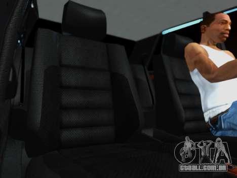Mercedes-Benz W124 E500 para GTA San Andreas vista traseira