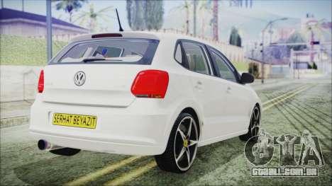 Volkswagen Polo 1.2 TSI para GTA San Andreas esquerda vista
