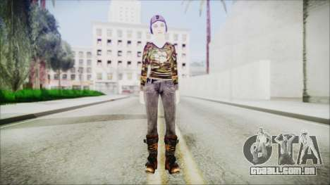 Clementine para GTA San Andreas segunda tela
