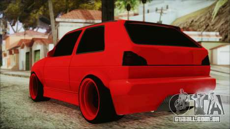 Volkswagen Golf 2 Ghetto Cult para GTA San Andreas esquerda vista