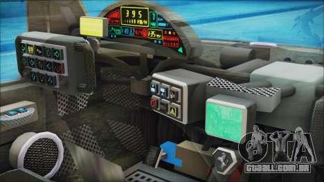 Ferrari P7 para GTA San Andreas vista direita