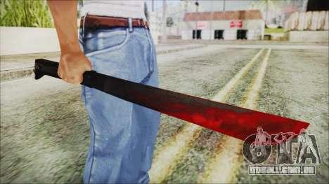 Jason Voorhes Weapon para GTA San Andreas