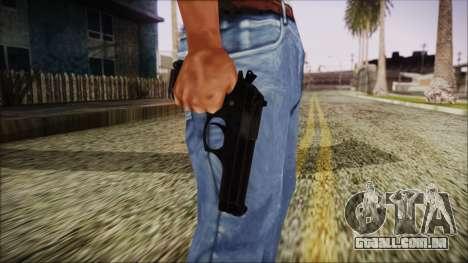 PayDay 2 Bernetti 9 para GTA San Andreas terceira tela