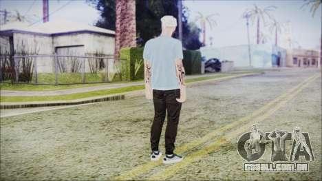 GTA Online Skin 5 para GTA San Andreas terceira tela