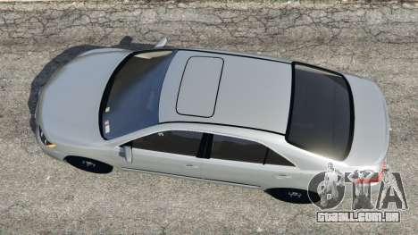 GTA 5 Toyota Camry 2011 voltar vista