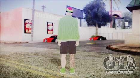 GTA Online Skin 44 para GTA San Andreas terceira tela