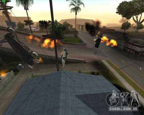 Insanidade, no estado de San Andreas v1.0 para GTA San Andreas quinto tela