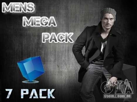 Mens Mega Pack para GTA San Andreas