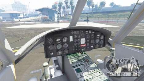 GTA 5 Bell UH-1D Iroquois Huey quinta imagem de tela