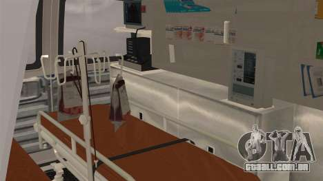 Indonesian PMI Ambulance para GTA San Andreas vista traseira