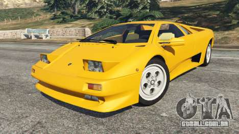 Lamborghini Diablo Viscous Traction 1994 para GTA 5