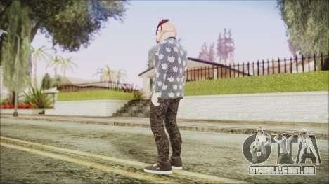 Skin GTA Online Hipster 2 para GTA San Andreas terceira tela