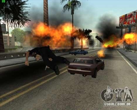 Insanidade, no estado de San Andreas v1.0 para GTA San Andreas sétima tela