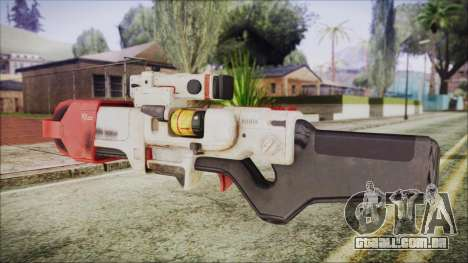 Fallout 4 Focused Institute Rifle para GTA San Andreas segunda tela
