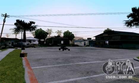 uM ENB para PC fraco para GTA San Andreas terceira tela
