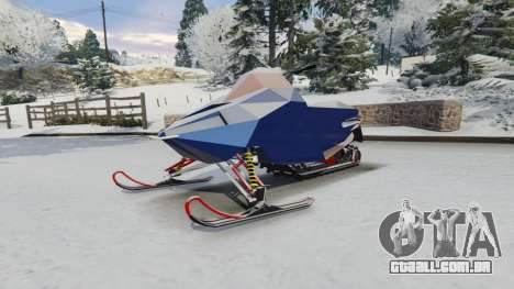GTA 5 Snowmobile vista lateral direita