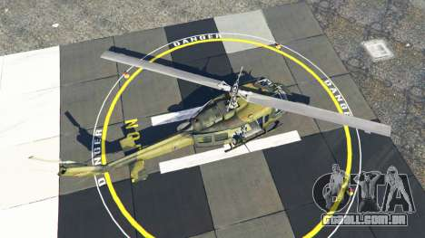 GTA 5 Bell UH-1D Huey Bundeswehr quarto screenshot
