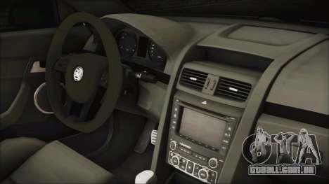 Holden Commodore VE Sportwagon 2012 para GTA San Andreas vista direita