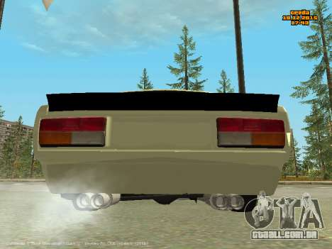 VAZ 2107 Carro para GTA San Andreas vista direita