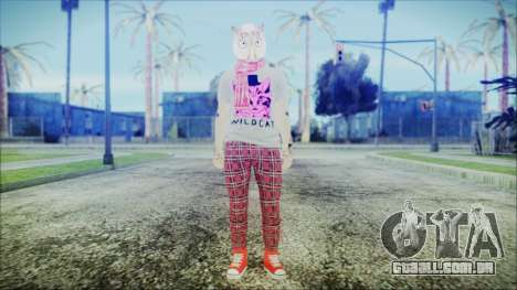 GTA Online Skin 54 para GTA San Andreas segunda tela