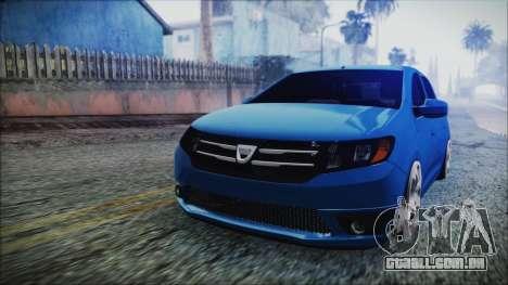 Dacia Logan 2015 para GTA San Andreas